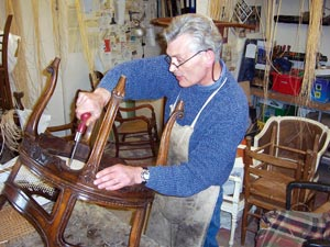 recaning cane chair seats